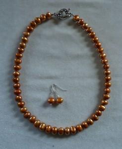 Orange pärla