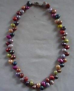 Pärlor med färg