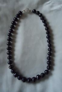 Svarta Bali pärlor